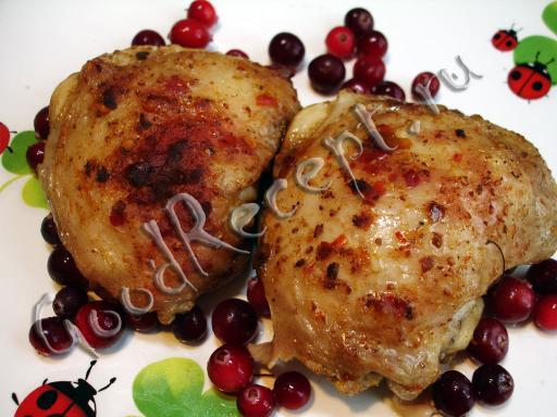 Запеченные куриные ножки с аджикой, пошаговый рецепт с фото