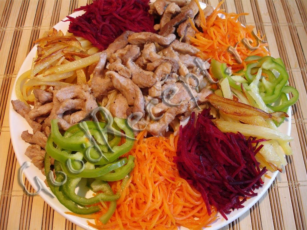 салат чафан рецепт с фото