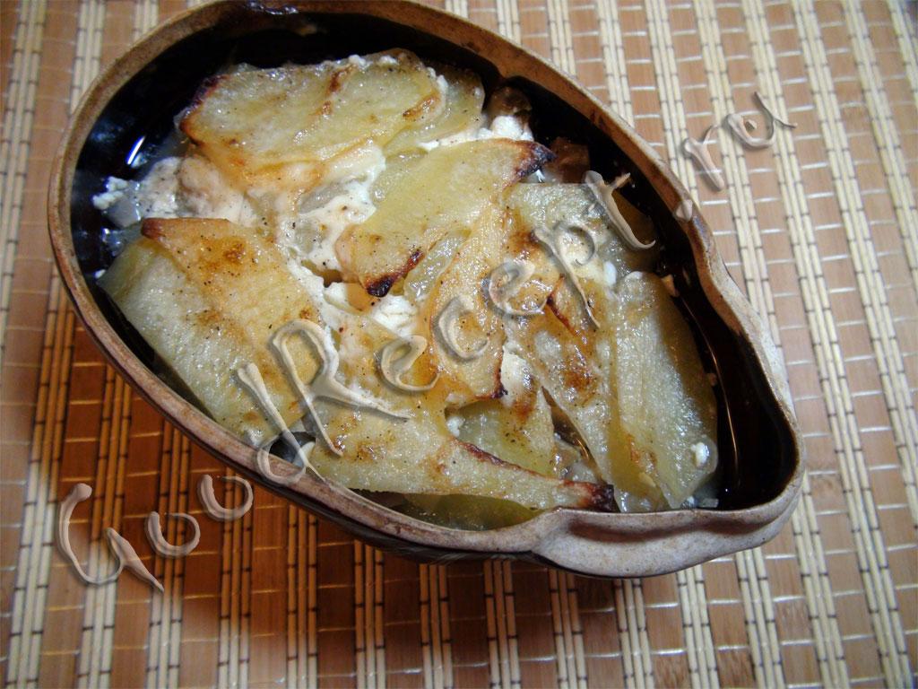 горшочки в духовке рецепты фарш