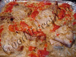 свинина на косточке в духовке рецепты с овощами