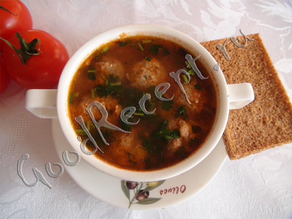 суп с фрикадельками для малышей рецепты