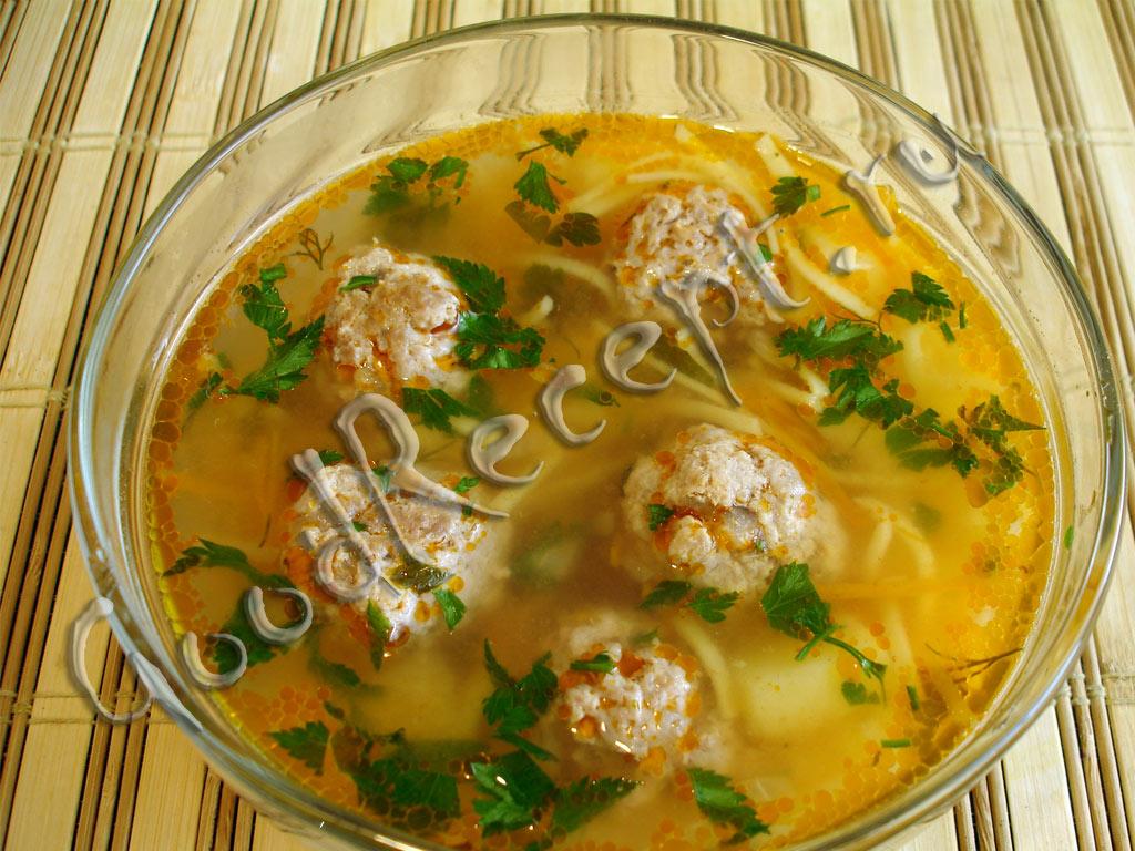 сколько калорий в супе с фрикадельками и картошкой