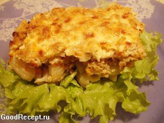Блюдо из макаронных изделий в духовке