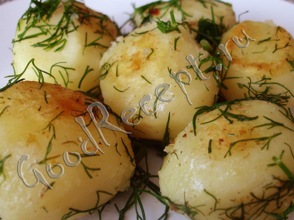 Рецепт отварной картошки фото